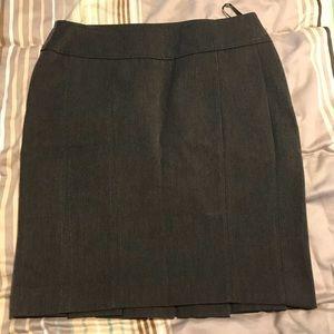Dark gray Express Design studio pencil skirt